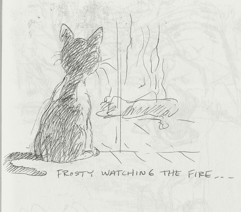 frosty-watching-the-fire-cathy-sketch.jpg
